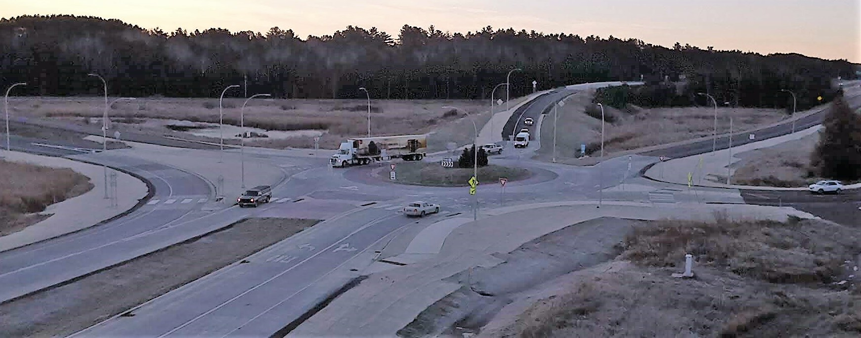 Hwy 33 Roundabout