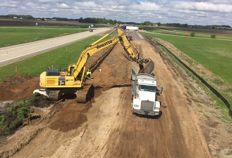 I-90 Freeborn County
