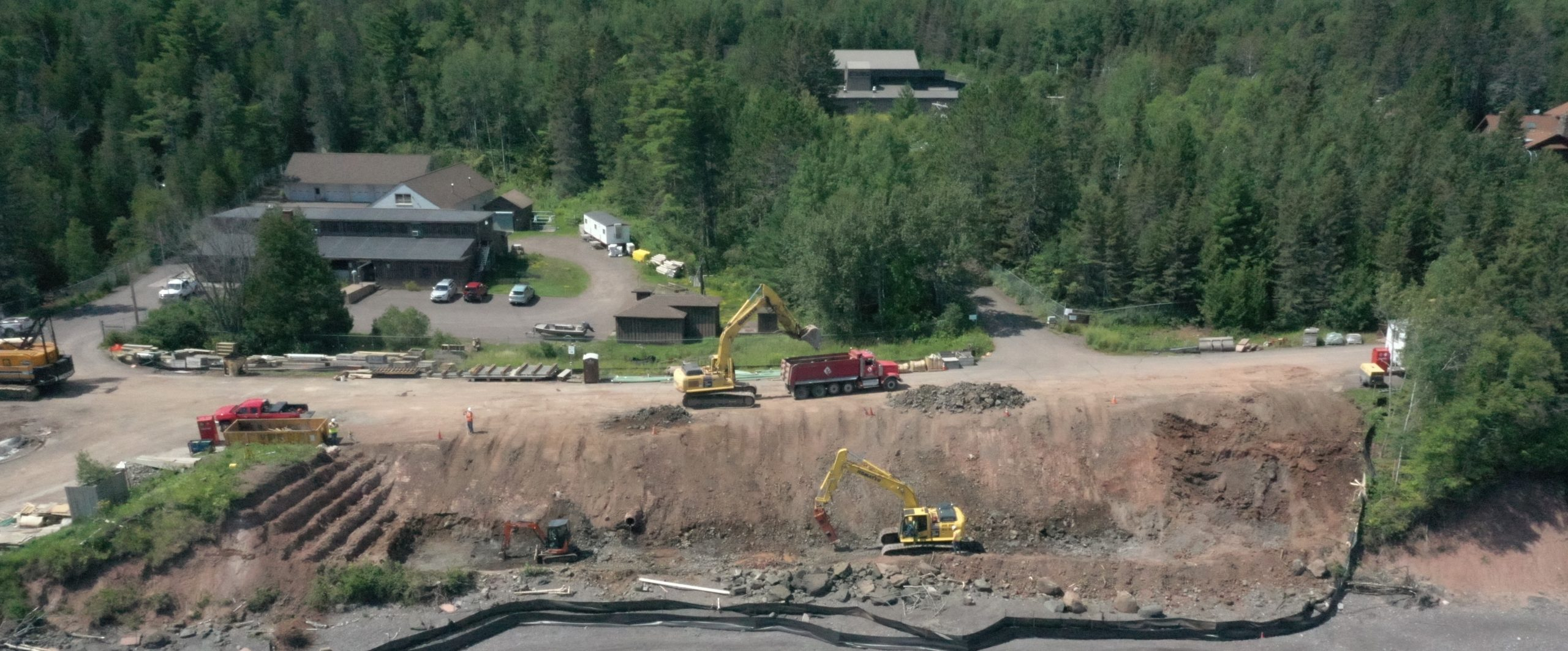French River Bridge Excavation